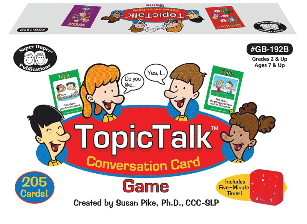 TopicTalk Game box